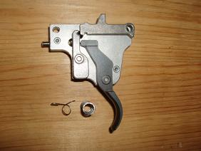 N0. 8. Winchester M-70 M.O.A. Install a Light Trigger Spring .